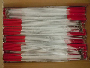 Wholesale 10pcs Extra Thick Fiberglass Stick Art Dancing Streamers Gymnastic Ribbon Twirling Rod cm cm Black Red