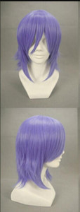 WIG 1117+++Xerxes Break Light Purple Anime Cosplay wig party