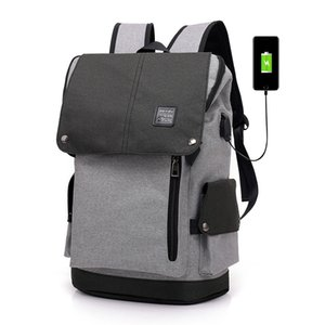 Casual Men Women School Backpacks for teens Waterproof Male Youth Travel Backpack School bookbag Notebook for boys on Sale