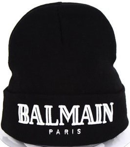 Wholesale Fashion Accessories men women hats Beanie Skull Caps Hot Sale letters hat black color cap CP