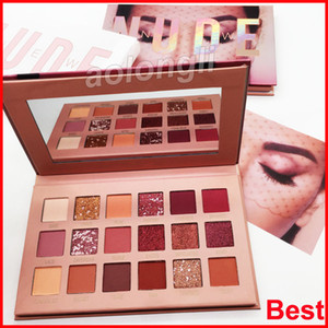 Beauty New Nude Palette eyeshadow 18 Colors eye shadow highly pigmented shades makeup Shimmer Matte eyeshadow Best Quality DHL free shipping