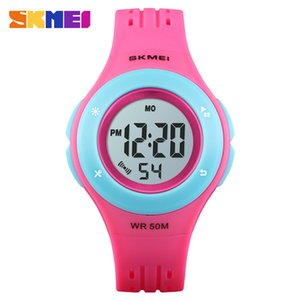 Kids Watch LED Sport Style Children Watches Boy Girl Fashion Digital Watch 5Bar Waterproof Watch montre enfant 1455 on Sale