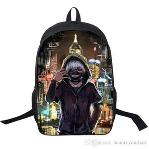 Wholesale 3D Cool Tokyo Ghoul Kids Backpacks Unisex Boys Girls Outdoor Sport Travel Shoulder Bags Rucksacks School bags