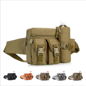 Wholesale Tactical Waist Bag Multifunction Army Fan Outdoor Hiking Package for Men Women Fashion Sport Packet Camouflage Travel Kettle Package LT1121
