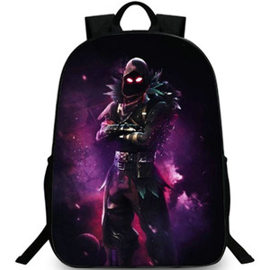 Wholesale Raven backpack Crow Feathered Flyer day pack Battle royale school bag Cool packsack Quality rucksack Sport schoolbag Outdoor daypack