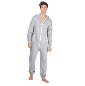 Wholesale Sales Adult Jumpsuits Onsies Sleep Lounge sleepwear One Piece Pyjamas Male Jumpsuits Hooded Onesies Unisex Onesies Sleepsuit Nightgown