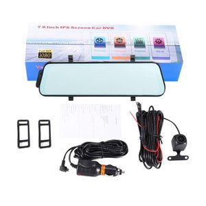 Wholesale 1PCS Car Mirror Dash Cam Touch Full Screen Front Camera degrees Wide Full HD Rear View Camera