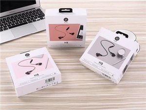 Wholesale H5 in ear mobile Bluetooth headset Earphone Bluetooth headset stereo high quality retail packaging Universal Colors