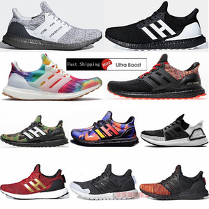 Wholesale ultra boost black for sale - Group buy 2021 Ultraboost Running Shoes Ultra Boost Primeknit Trainers Woodstock Orca Triple Black Mens Women Ladies Sports Sneakers