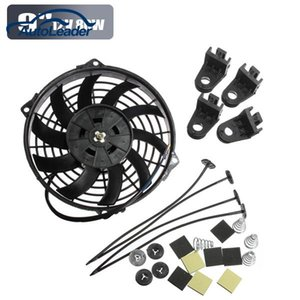 Wholesale Freeshipping V W Slim Reversible Electric Radiator Cooling Fan Push Pull Easy Install