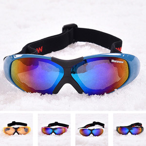 Wholesale Anit fog Ski Goggles for Men Women UV400 Windproof Snow Glasses Skiing Mask Snowboard Goggle Winter Eyewear Single Coating Lens