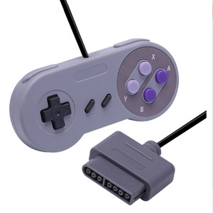 Wholesale free computer game resale online - Game Controller Gaming Joystick Gamepad Controller for Nintendo SNES Game pad for Windows PC MAC Computer Control Joystick Free DHL