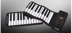 Wholesale Hand roll piano key folding piano thickening with hand portable roll piano entry beginner keyboard