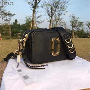 Wholesale High quality leather fashion color wide camera bag female handbag designer Messenger small square bag