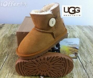 &#85&#71G 5991 boot Winter waterproof childrens snow boots warm Christmas winter girls boys kids boots Australian snow boots Baby Shoes on Sale