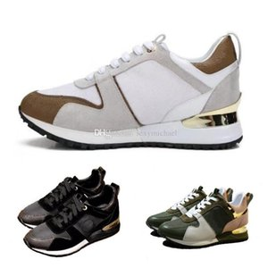 Couple dating artifact Mens designer luxury shoes Casual Shoes women hanging out sneakers advanced material Brown gold Black white with box