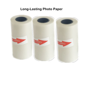 Wholesale GOOJPRT Real Long Lasting Transparent Thermal Photo Paper for A6 mm Peripage Thermal Photo Labels Stickers Printer Free APP