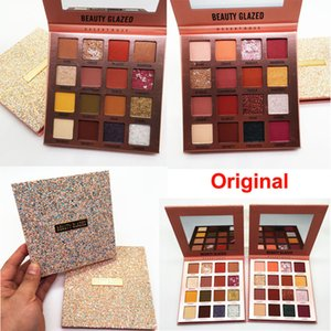 Wholesale rose colors for sale - Group buy Makeup Beauty Glazed Eyeshadow Desert Rose Eye shadow palette Colors Powder Nude Matte Shiny Pearly Eyeshadow Charming Cosmetics Original