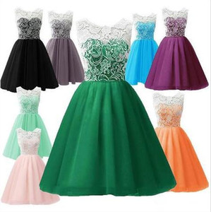 Wholesale sweet princess clothing resale online - Kids Clothes Girls Princess Dresses Tutu Flower Lace Tulle Sleeveless Dresses Sweet Evening Party Dress Prom Formal Dance Gown Dress C633