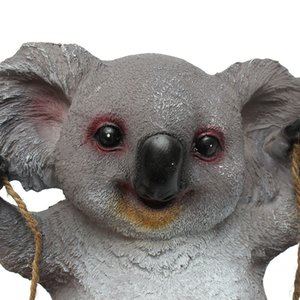 Wholesale Garden Home Decorations Koala Swing Animals Ornaments Yard Statues