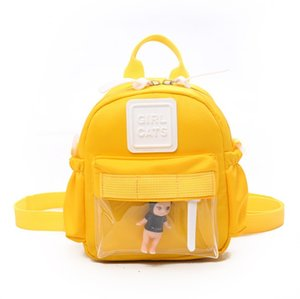 Wholesale Children School Bags Cartoon Kids Bags Backpacks Baby Girls mini Nylon Bag Japanese Style Kindergarten SchoolBags M