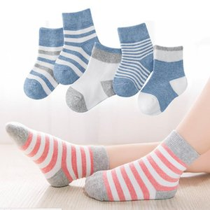 5 pairs lot Baby Socks Newborn Summer Mesh Baby Socks for Girls 100% Cotton Warm and soft Winter Infant Casual Boy Girls Toddler Socks on Sale
