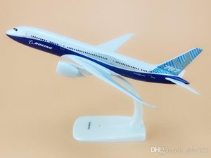 Wholesale Alloy Metal Prototype Air B787 Boeing Airlines Airplane Model Plane Model Stand Aircraft Kids Gifts cm