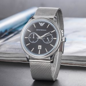 2019 Maserati men luxury stainless steel watch men quartz movement watch men's mesh watchband wristwatch mens motorsports wristwatch montres