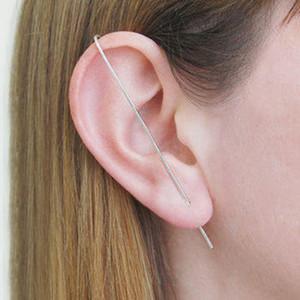 Domino Handmade Bar Earring Ear Climbers Minimalist Earrings Simple Earrings Edgy Stud Earrings T7190617