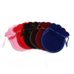 Wholesale 10 jewelry bag velvet fabric bracelet necklace gift packing bags factory direct cheap jewelry decoration cm