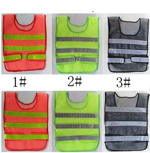 Wholesale safe vest resale online - Reflective Warning Vest High Intensity Reflection Safety Articles Traffic Safe Clothing Uniform Vest Breathable Reflective Vest LJJK2140