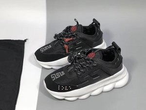 Wholesale Free shipping designer shoes casual shoesChain Reaction Casual Designer Casual Shoes Lightweight Link-Embossed Sole With EUR 36-45