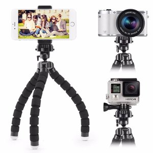 Mini Flexible Sponge Octopus Tripod For iPhone 6 7 7P 8 8P Samsung Xiaomi Huawei Smartphone Gopro Camera Digital Camera Tripod Mini Tripod