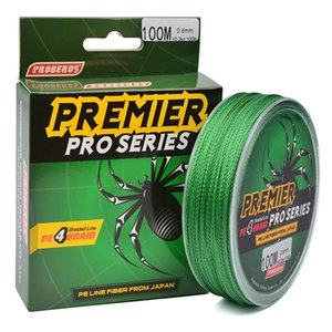 Wholesale 100M Fishing Line 5 Color 4 Weaves Braided Fishing Line Available 6LB-100LB PE Line Pesca Fishing Tackle Accessories