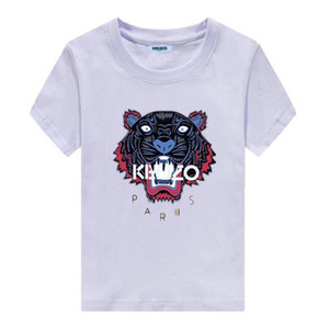 New Fashion KENZO women men Casual t-shirt summer printing clothes Children's clothing short sleeve tops Boys and girls T shirts