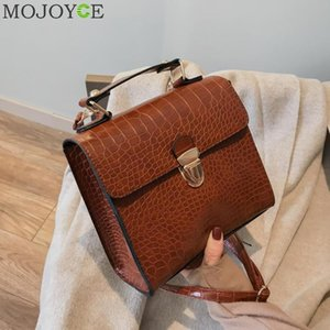 Wholesale Alligator Leather Handbags Fashion New Trend Pattern Buckle Square Shoulder Bag Across Wild Ladies Messenger Crossbody Bags