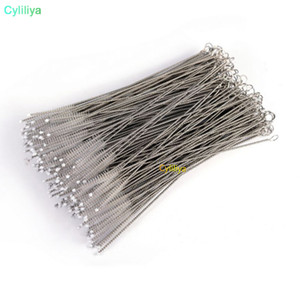 100X Pipe Cleaners Nylon Straw Cleaners cleaning Brush for Drinking pipe stainless steel pipe cleaner