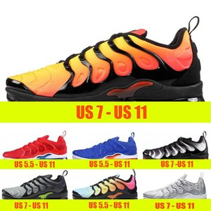 Wholesale Cushion Tn Plus Mens Trainers Sunset Triple s White Black Women Outdoor Sports Shoe BETRUE Game Royal Metallic Sliver Designer sneakers