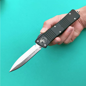 Wholesale micro blades resale online - COMBAT TROO DON D E Micro tech knife double action automatic knife tactical pocket knives M390 Blade T6 crafted aluminum handle