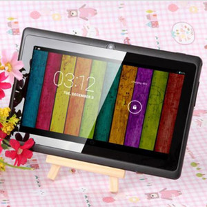 Wholesale epad tablet inch android resale online - 7 inch Capacitive Allwinner A33 Quad Core Android dual camera Tablet PC GB ROM MB WiFi EPAD Youtube Facebook Google DHL