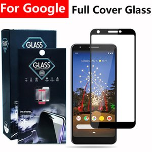 Wholesale google glasses resale online - 5D Full cover tempered glass phone screen protector For Google Pixel XL PIXEL A XL A LITE A XL LITE in paper bag