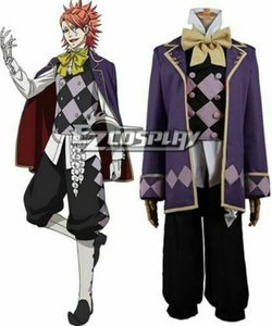 Wholesale Black Butler Book of Circus Joker Cosplay Costume