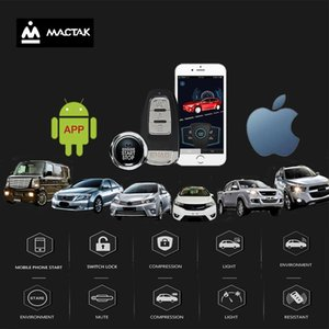 Car accessories Keyless Entry Comfort System PKE and android mobile Phone APP Remote Start Car Engine Alarm Push 963