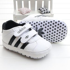 Wholesale Designer New Newborn Toddler Infant Baby Girl Boy Soft Sole Canvas Crib Shoes Sneaker Prewalker Ventilated Baby Shoes M