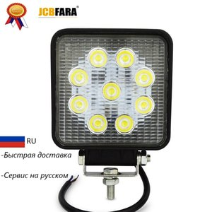 Wholesale 4inch w led work light flood spot far light led work lamp for Tractor Boat Off Road WD x4 driving