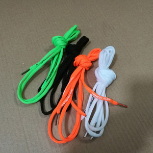 Wholesale Hot Sale OFF SHOELACES White Black Red Green Shoe Laces OFF Zip Tie Tag Part Accessories M With Red Zip Tag White Shoes