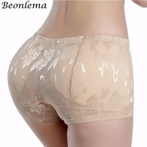 Wholesale Beonlema Sexy Butt Enhancer Pads Hip Lifting Panties Butt Lift Shapewear Women Body Shaper Fake Ass Underwear Plus Size M xl T190627
