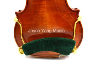 Velvet 4 4 3 4 1 2 1 4 1 8 Full Size Common Violin Shoulder Rest Adjustable Metal Violin Shoulder Pads Free Shipping