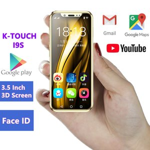 Wholesale Pocket Mini Android Smartphone K-TOUCH I9S MTK6580 16GB Celular GPS WIFI Face ID Support Google play Super Small Mobile Phones PK XS 7S