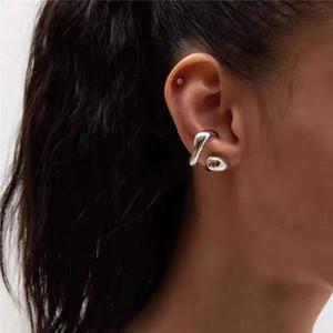 Hiphop Women Ear Cuff Vintage Metal Tree Clip Earrings for Women Geometric Leaf Cuff Earrings Gothic Jewelry Female Bijoux 2020